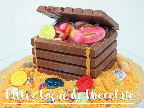 """Taller infantil de cofre de chocolate en """"La Gata Curiosa"""""""