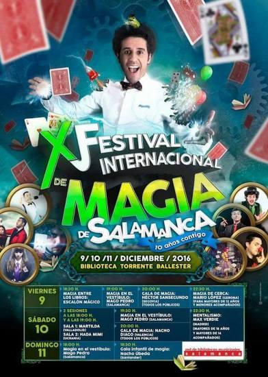 X Festival Internacional de Magia de Salamanca