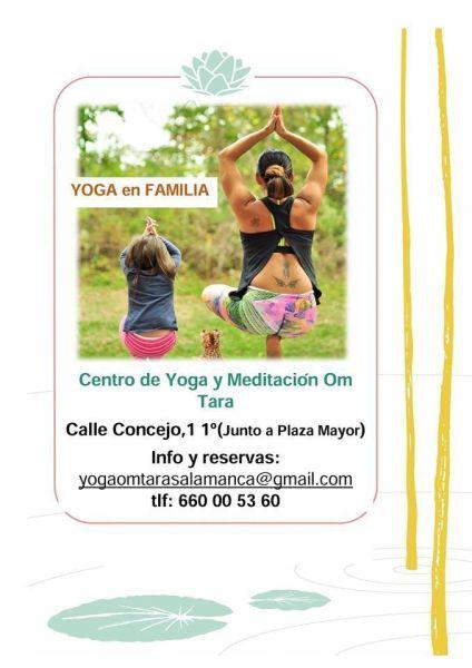 Yoga en familia en Om Tara