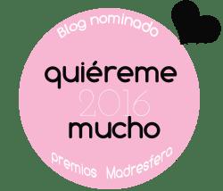 Blog nominado Premios Madresfera