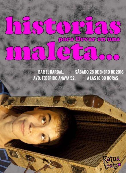 Katua cuenta sus historias para llevar en una maleta en el Bar El Bardal
