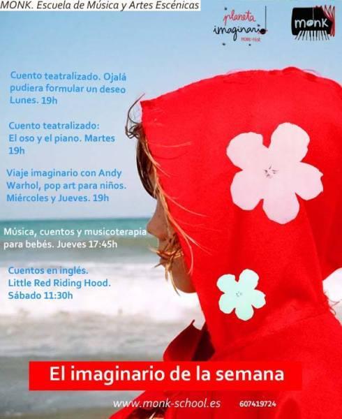 Propuestas infantiles en Monk para este finde en Salamanca