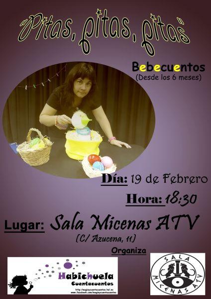 Bebecuentos con Habichuela en la Sala Micenas ATV de Salamanca