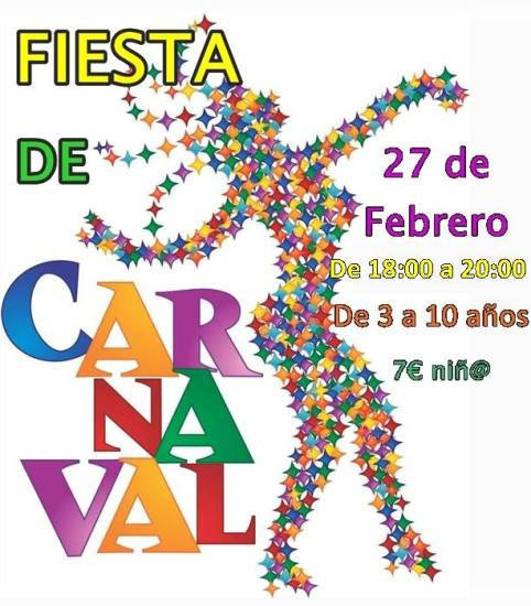 Fiesta de carnaval en Aprendiver 2017