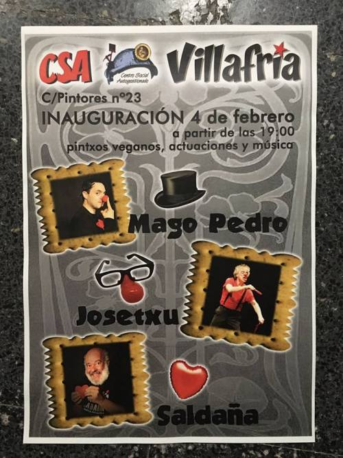 Fiesta inauguración del nuevo local del CSA Villafría