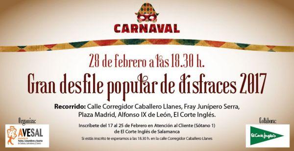 Gran desfile de Carnaval de Avesal 2017
