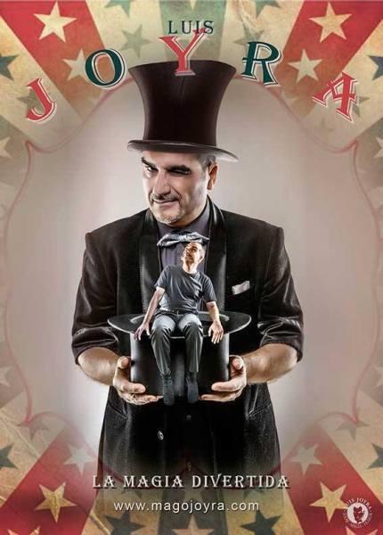 La magia divertida del mago Luis Joyra en el Teatro La Comedia de Salamanca