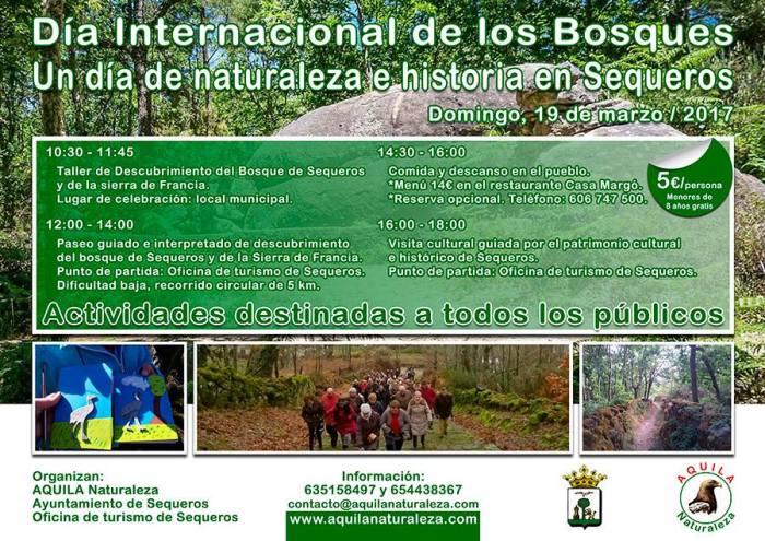 Celebra con Aquila Naturaleza el Día de los Bosques en Sequeros
