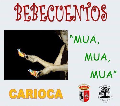 Bebecuentos de Carioca en la biblioteca Berta Pallarés