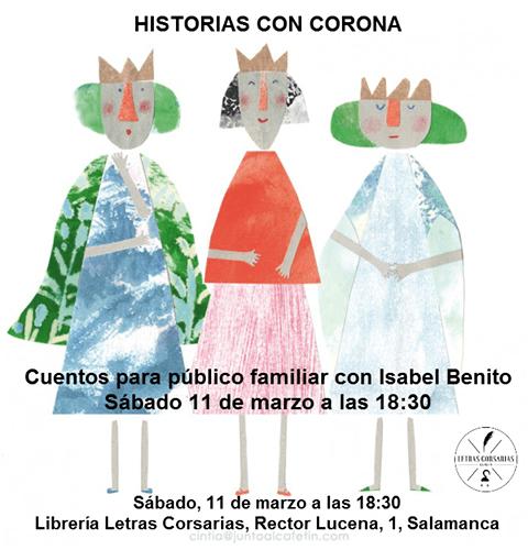 Cuentacuentos en Letras Corsarias con Isabel Benito