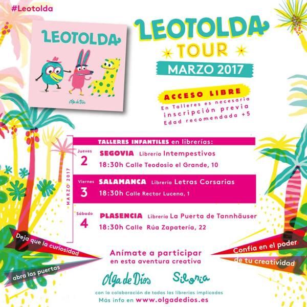 Cuentacuentos y taller de Leotolda con Olga de Dios en Letras Corsarias