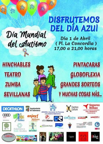 Día Mundial del Autismo el 1 de abril en Salamanca