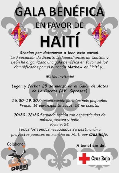 Gala Benéfica a favor de Haití