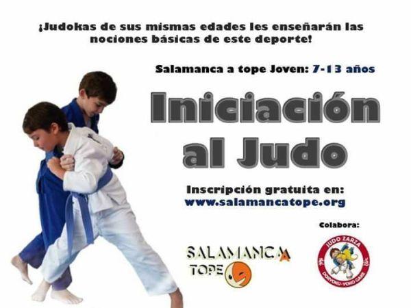 Iniciación al judo en Satope Joven