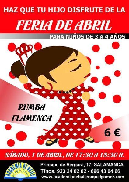 La Feria de Abril para los peques en la Academia de Baile de Raquel Gómez