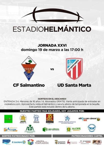 Partido benéfico Salmantino Santa Marta