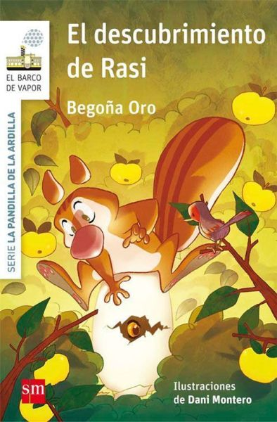 La ardilla Rasi visita la librería Santos Ochoa
