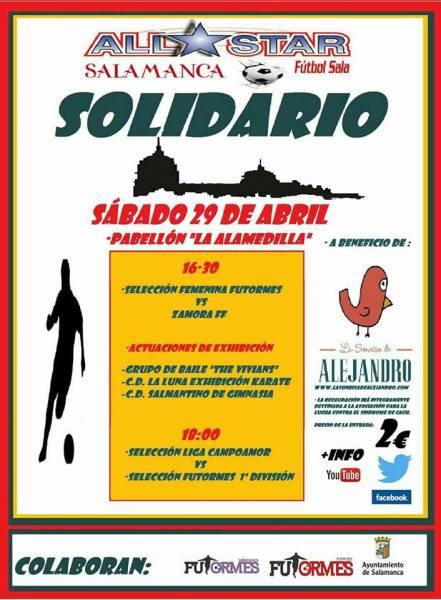 Fútbol sala solidario con La Sonrisa de Alejandro
