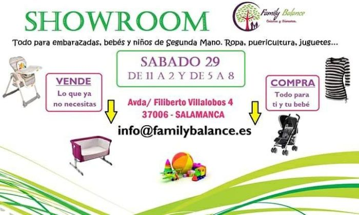 Showroom en Family Balance