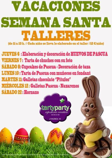 Talleres en Tarty Party para disfrutar de la Semana Santa