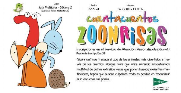 Zoonrisas en El Corte Inglés