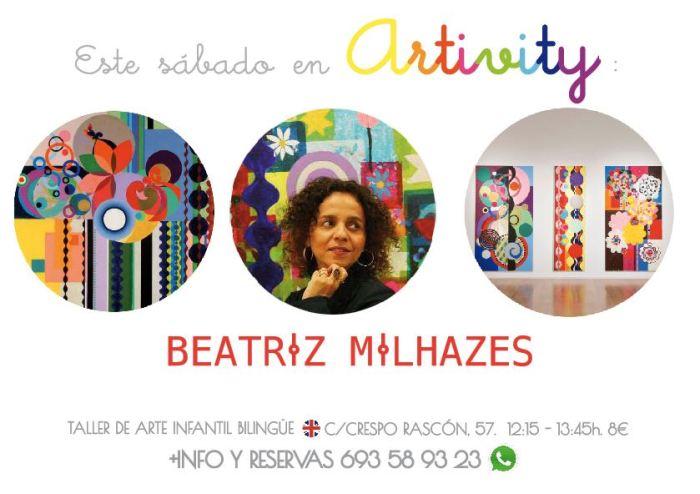 Beatriz Milhazes en el Artivity de Paz Samaniego