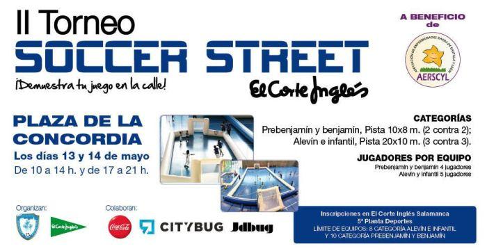 II Torneo Soccer Street en la Plaza de la Concordia a beneficio de la AERSCYL