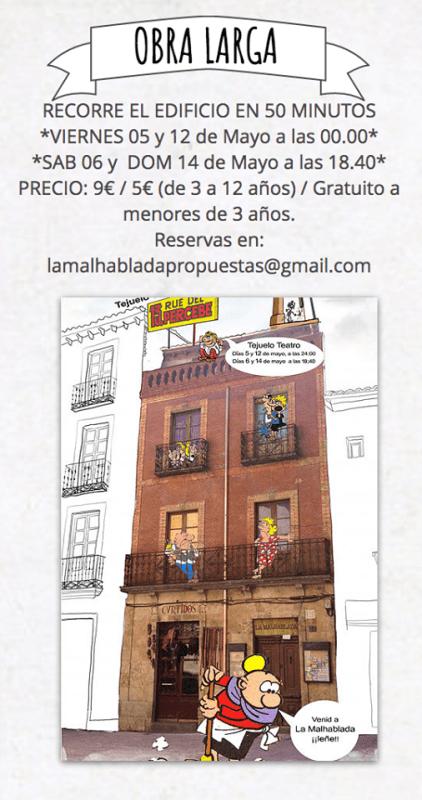 La Rue del Percebe en La Malhablada
