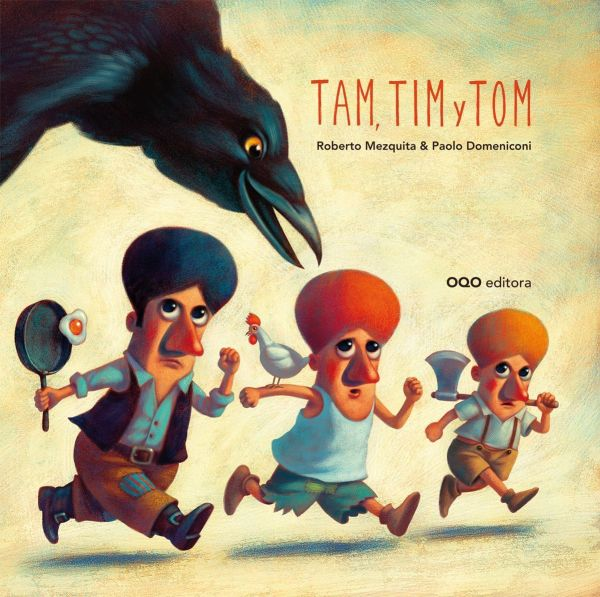 Roberto Mezquita presenta en Musarañas su libro Tam, Tim y Tom