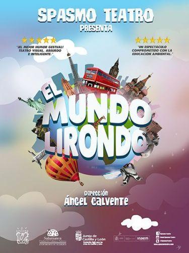 """Spasmo Teatro con """"El Mundo Lirondo"""" en la Biblioteca Torrente Ballester"""
