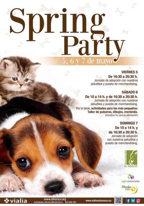 Spring Party en Vialia Salamanca para ayudar a El Hocico