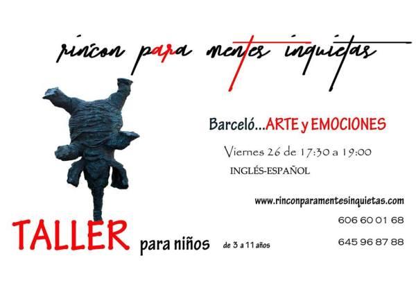 Taller artístico sobre Barceló en el Rincón para mentes inquietas