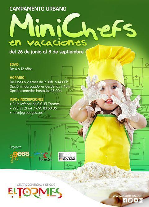 """Campamento urbano """"Minichefs"""" en El Tormes"""