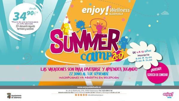 Summer Camp 2017 en Enjoy Wellness Aldehuela