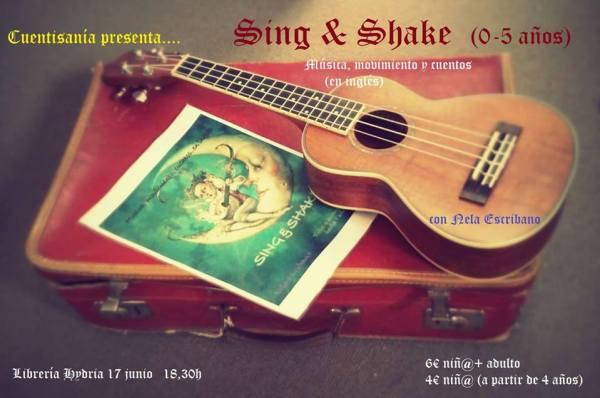 Sing & Shake con Nela en la librería Carletes