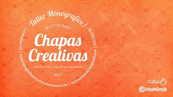 Taller de chapas creativas en Cubo Salamanca