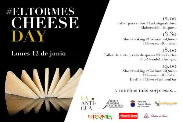 Disfruta el 12 de junio de #ElTormesCheeseDay