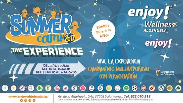 Summer Camps en Enjoy Wellness con pernoctación
