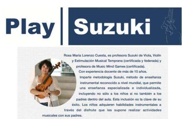 Clases de prueba en BabyEco Salamanca para conocer el Método Suzuki de aprendizaje musical