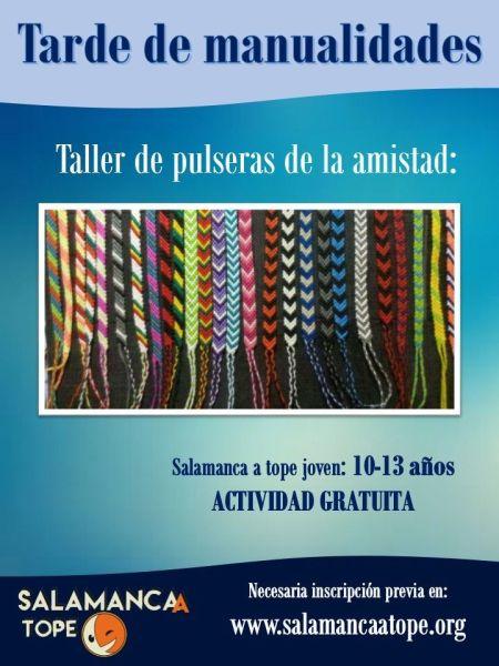 Aprende a confeccionar tú mismo pulseras para tu mejor amigo o amiga con Satope Joven