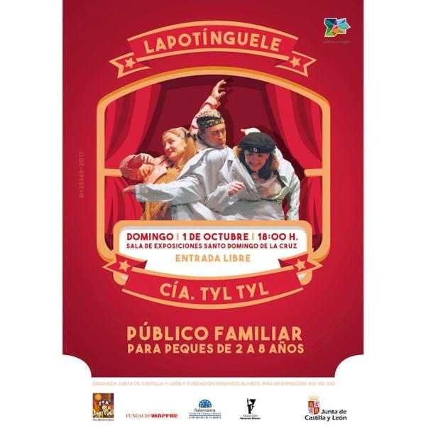 Función de teatro infantil en la Sala de Exposiciones Santo Domingo en Salamanca