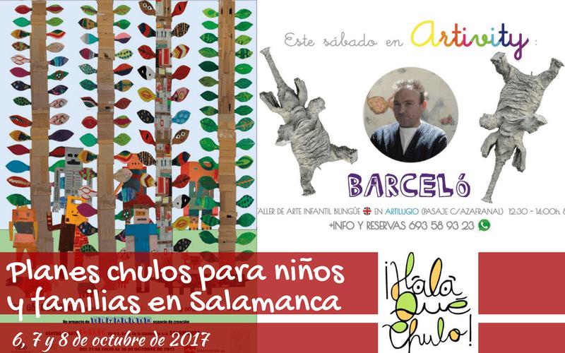 Agenda HQC de planes chulos en Salamanca para niños y familias