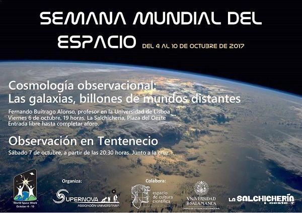 Observación del espacio para celebrar la Semana Mundial del Espacio