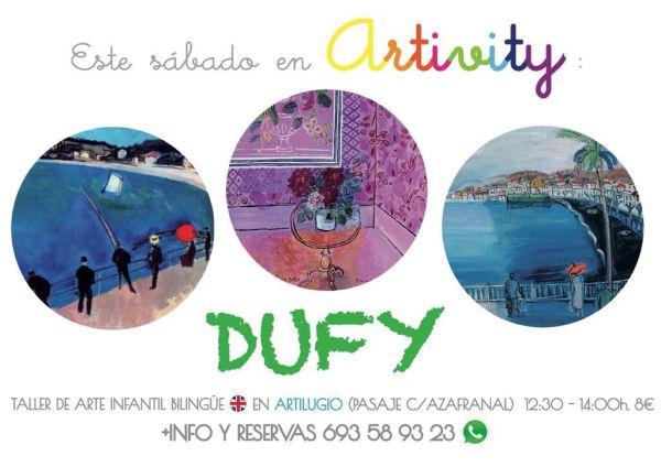 Dufy, en el taller infantil de arte en inglés Artivity
