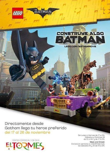 Espacio Lego Batman en el Centro Comercial El Tormes de Salamanca