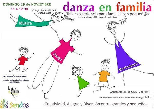 Danza en familia en Sendas