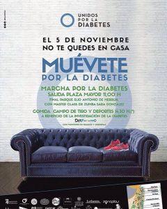 Marcha por la diabetes en Salamanca