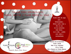 Yoga para embarazadas en Family Balance Salamanca