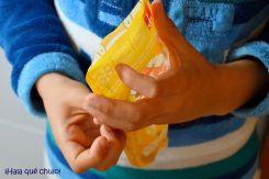 Las bolsas Squiz se cierran con zip