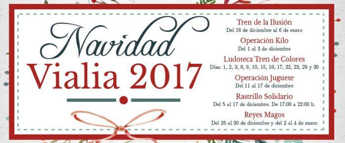Ya es Navidad en Vialia